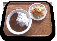 ひき肉と玉ねぎのカレー